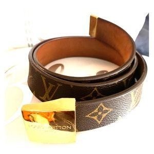 Monogram San Tulle Louis Vuitton Belt